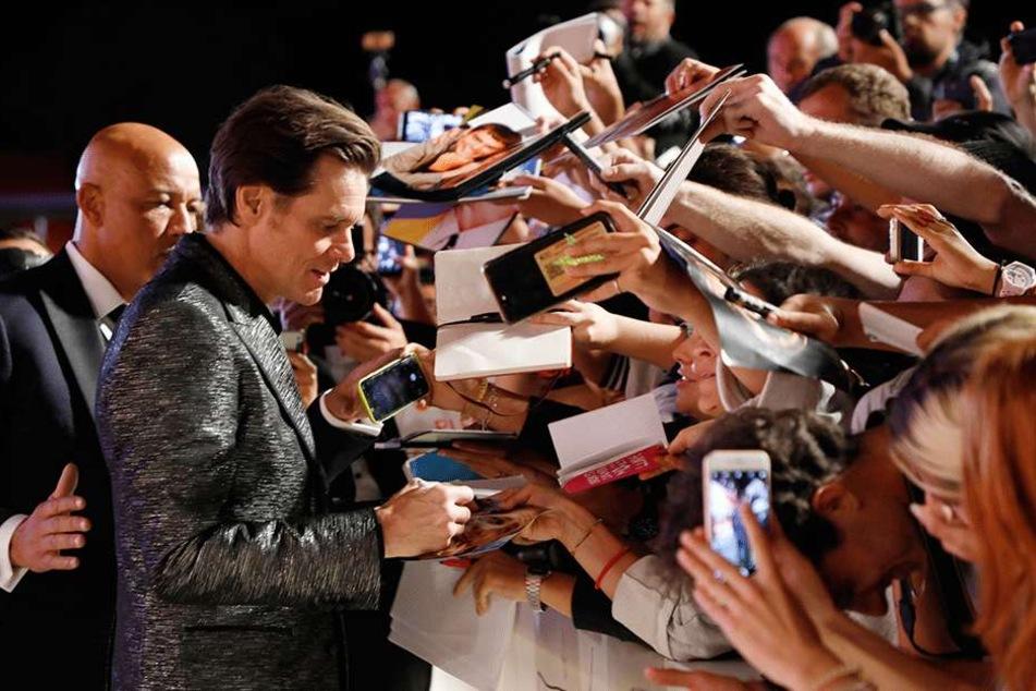 Bei seinen Fans ist Carrey nach wie vor sehr beliebt.