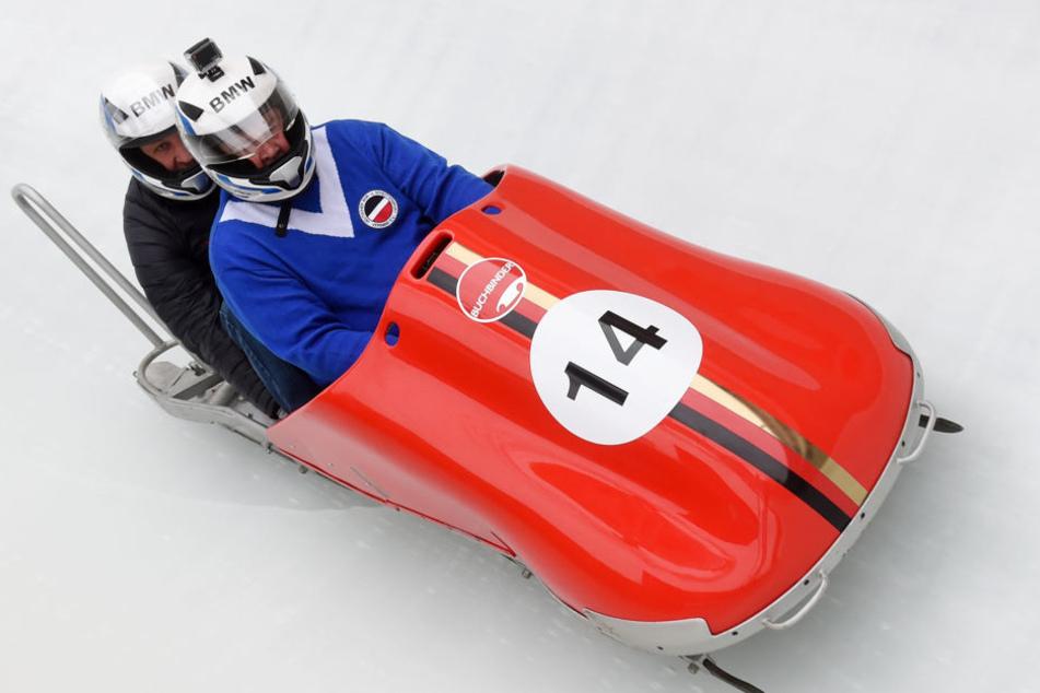 Gemeinsam mit Stefan Kober fuhr Wolfgang Hoppe im letzten Jahr beim Race of Champions.