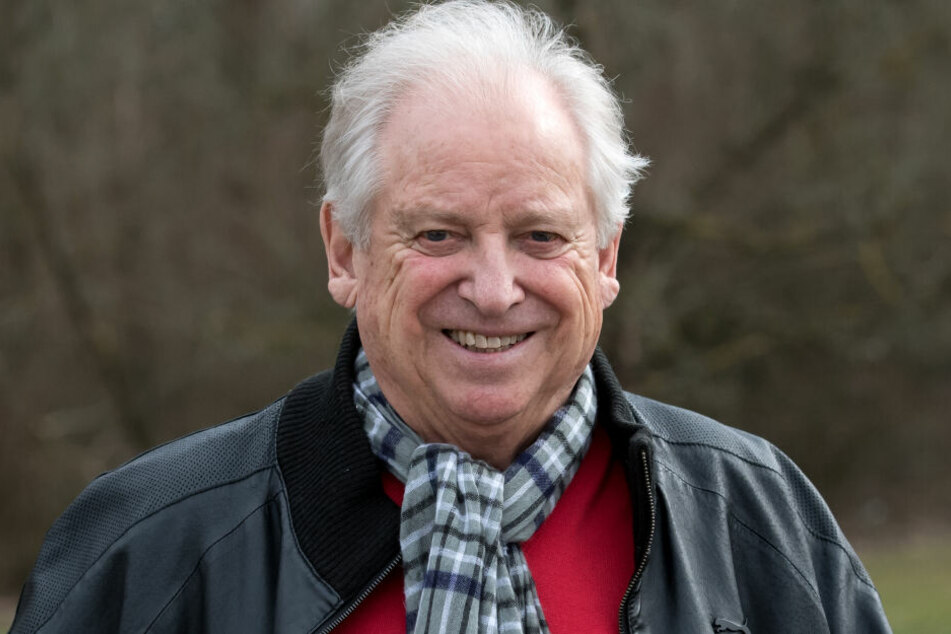 Der Olympiasieger von 1960 und ehemalige Weltrekordhalter über 100 Meter, Armin Hary.