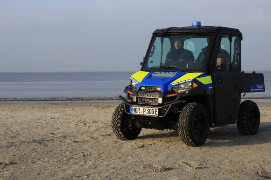 Auf dieser Nordsee-Insel geht die Polizei mit einem E-Strand-Buggy auf Verfolgungsjagd