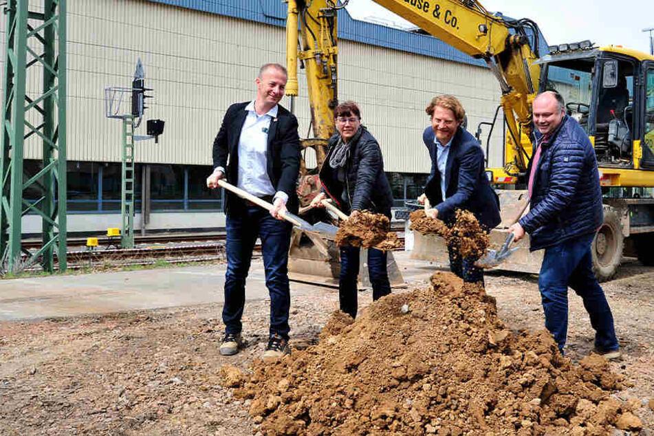 Chemnitz: Endlich geht es los: Sonnenberg erhält Bahnhofs-Anbindung