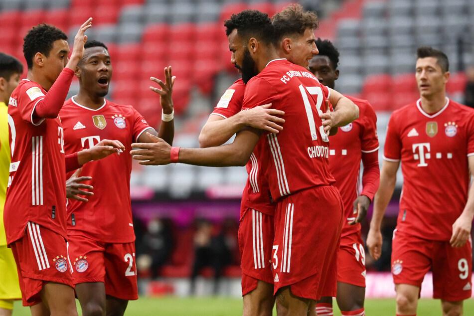 Die Spieler des FC Bayern München hatten allen Grund zur Freude, beim Gegner sah das anders aus. Der 1. FC Köln war beim Rekordmeister chancenlos.