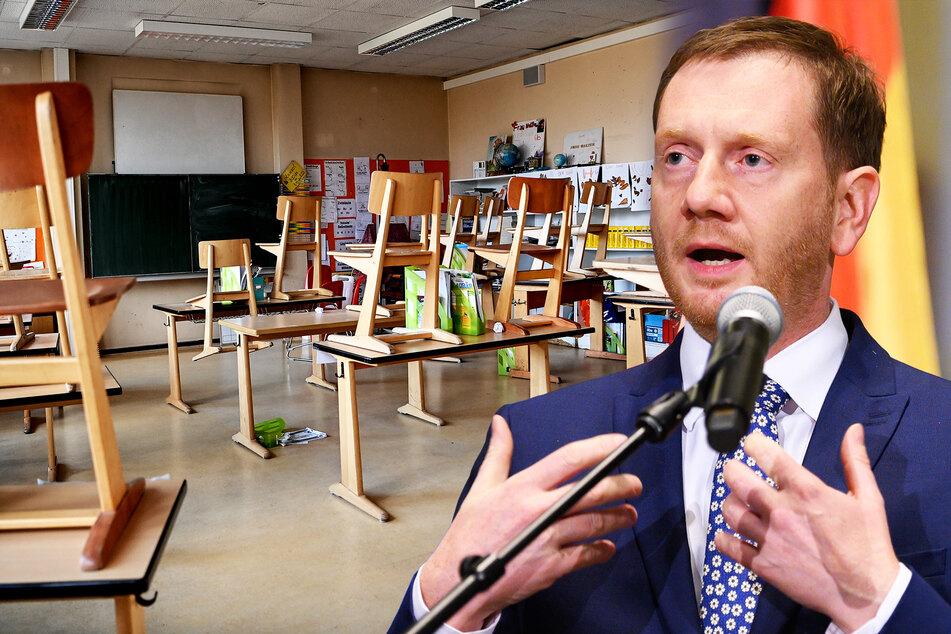 Michael Kretschmer (CDU, 45), Ministerpräsident von Sachsen, lässt die Stühle eher hochstellen.