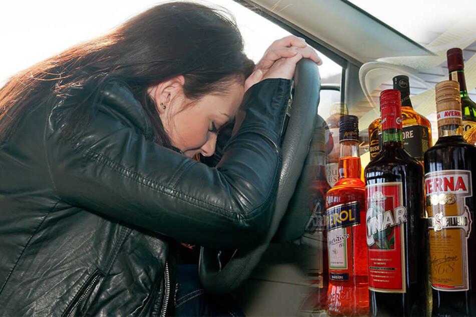 Die Frau stellte ihr Auto mitten auf der Fahrbahn ab und wollte schlafen. (Symbolbild)