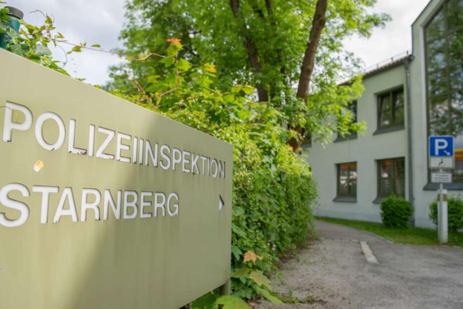 Blick auf die Polizeiinspektion Starnberg. (Archivbild)