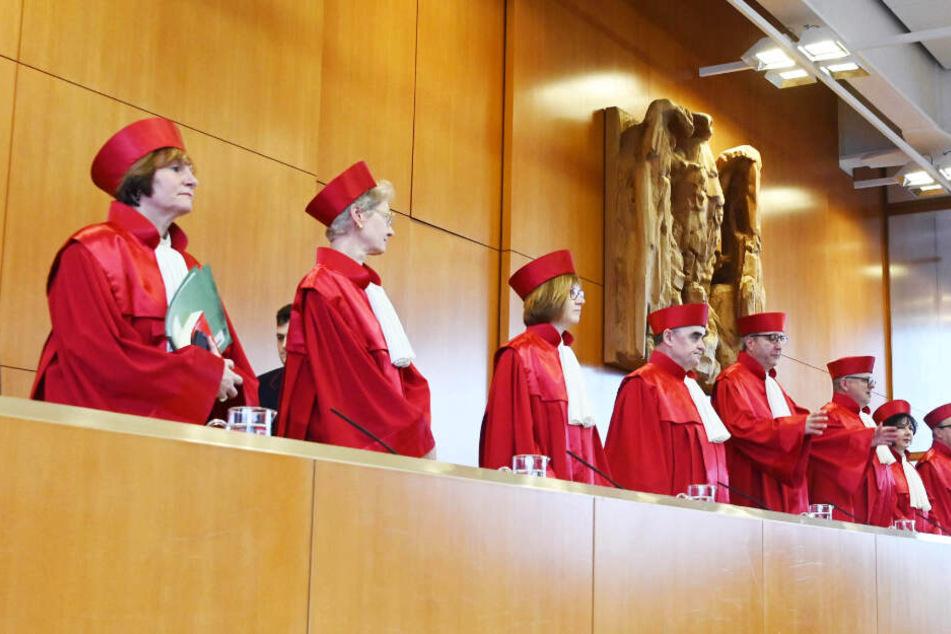 Das Bundesverfassungsgericht in Karlsruhe. (Archivbild)
