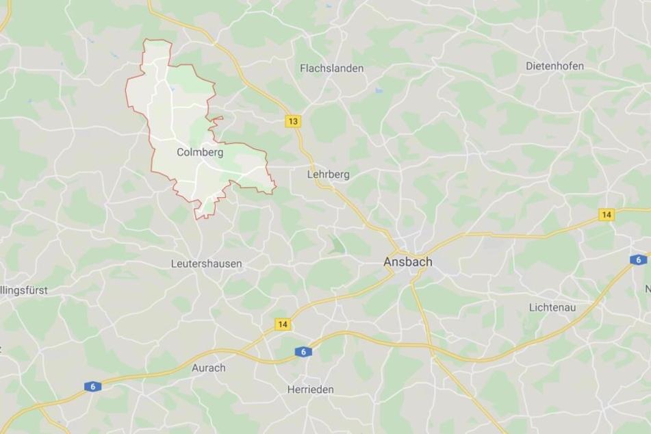 Auf der Staatsstraße 2250 sind zwischen Colmberg und Geslau zwei Fahrzeuge kollidiert.