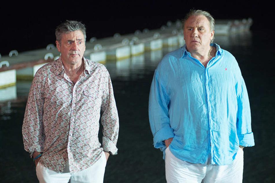 Zwei Freunde, die sich seit Jahrzehnten kennen: Daniel (l., Daniel Auteuil) und Patrick (r., Gerard Depardieu)