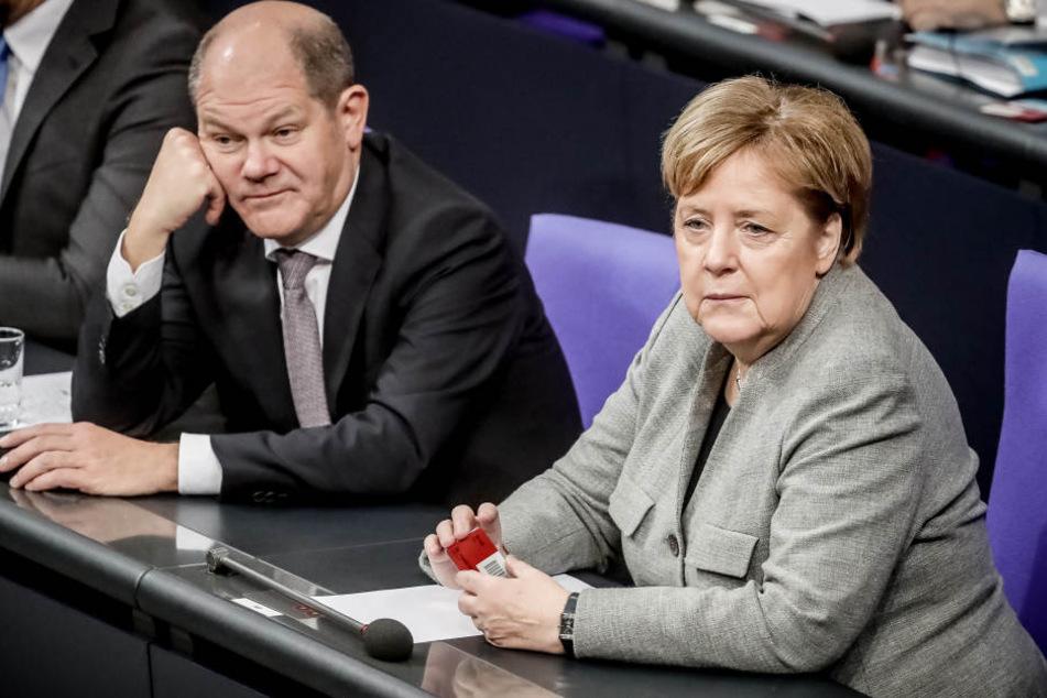Angela Merkel muss die männerdominierte CDU auf Kurs halten.