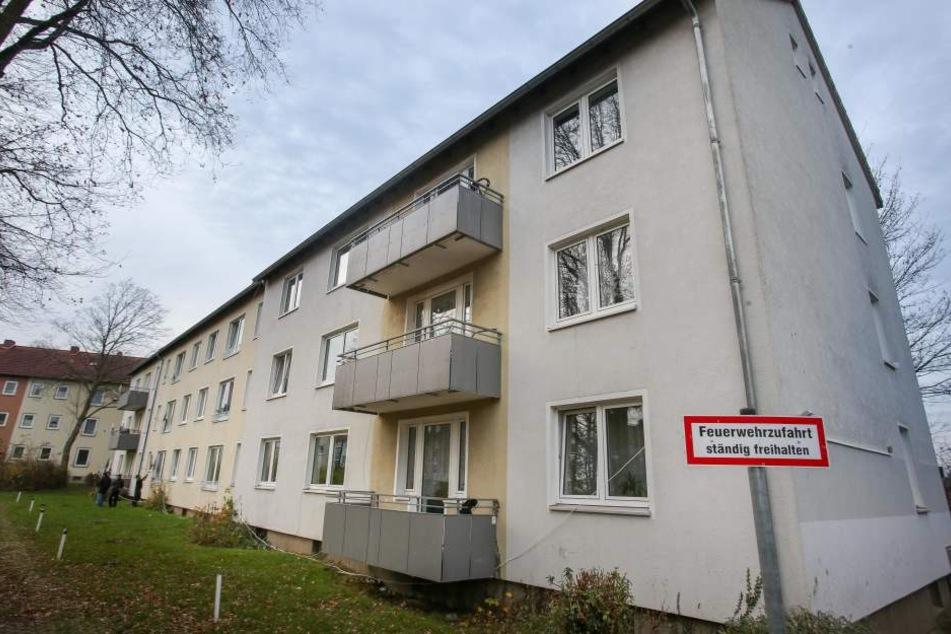 Soll geschlossen werden: Die langjährige Flüchtlingsunterkunft in der Teichsheide 12a bis 16a.