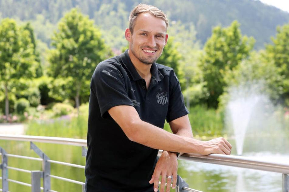 Drei Jahre war er als Spieler mit in Bad Blankenburg, im Juni erstmals als Sportdirektor: Toni Wachsmuth.