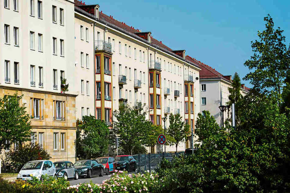 Betroffen von höheren Winterdienst-Kosten waren etwa Mieter an der Blochmannstraße.