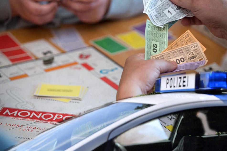 Ein Mann hat jetzt die Polizei gerufen, nachdem er beim Spiel Monopoly verloren hatte. (Symbolbild)