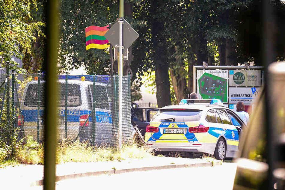 Schon häufiger stand das Vereinsheim der Bielefelder Hells-Angels im Fokus der Polizei.