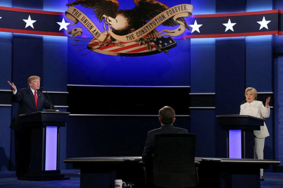 Die großen TV-Duelle des US-Wahlkampfes 2016 sind vorüber.