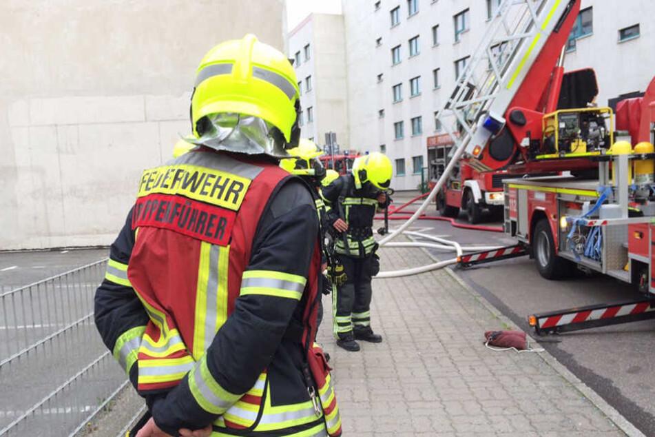 In der Jägerstraße brach am Montag ein Feuer aus.