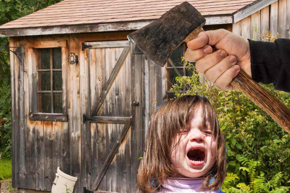 Um das schreiende Kind aus der alten Hütte zu befreien, mussten die Polizisten eine Axt zu Hilfe nehmen (Symbolbild).