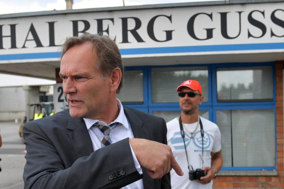 An der Demo soll Leipzigs Oberbürgermeister Burkhard Jung teilnehmen.