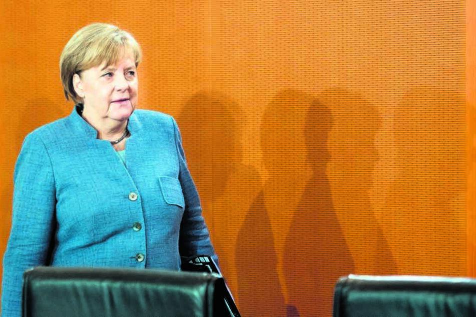 Auch Kanzlerin Angela Merkel (63) hofft auf eine rasche Regierungsbildung.