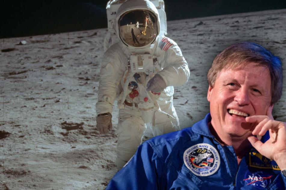 Ex-Astronaut Ulrich Walter würde alles für einen Flug zum Mond geben