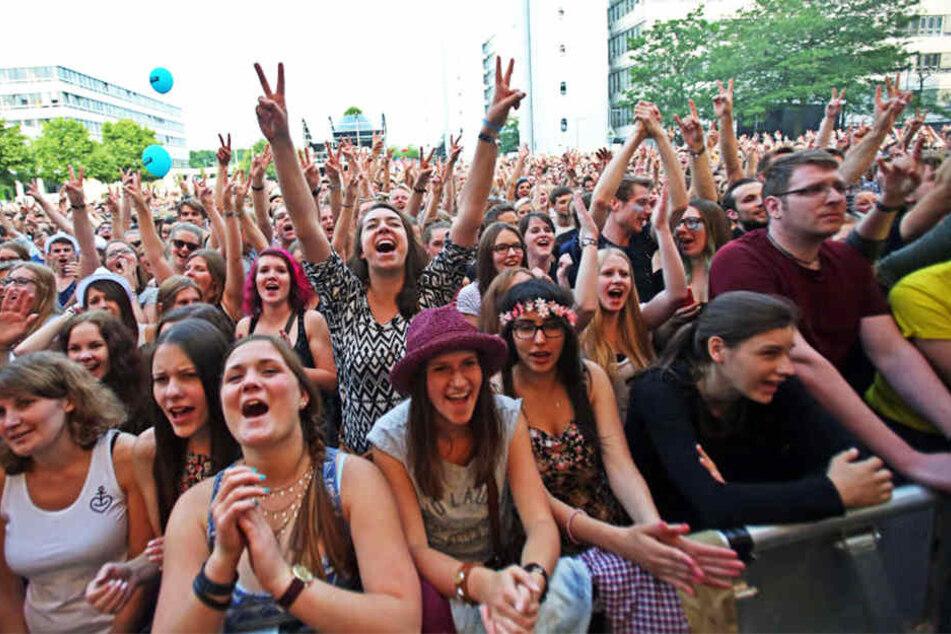 Das Campus Festival lockt jedes Jahr zahlreiche Besucher an. (Symbolbild)