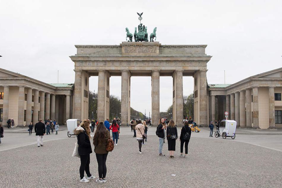 Vor dem Brandenburger Tor in Berlin wird das Mahnmal vom 11. bis 26. November aufgestellt.