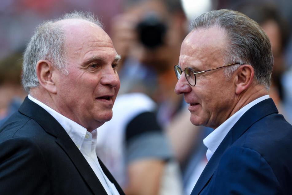 Uli Hoeneß und Karl-Heinz Rummenigge.