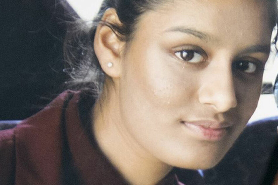 Shamima Begum vor ihrem Anschluss zum IS