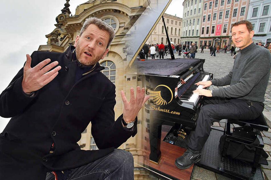 Klavierspieler verstimmt: Rathaus bremst Piano-Demo auf Neumarkt aus