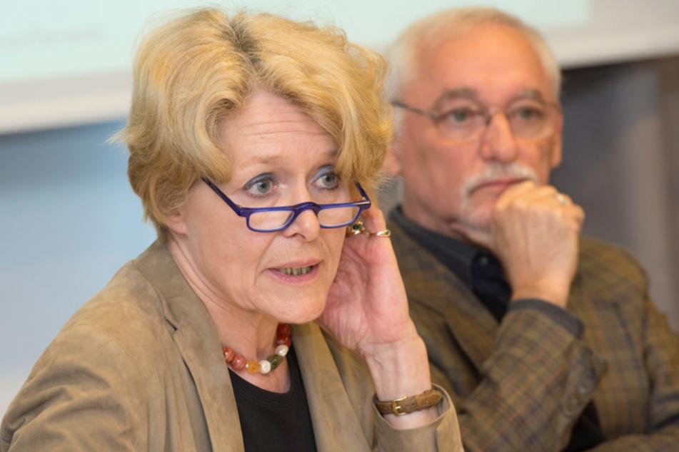 Die frühere Richterin Brigitte Baums-Stammberger (links) genießt großes Vertrauen bei den Opfern. (Archivbild)