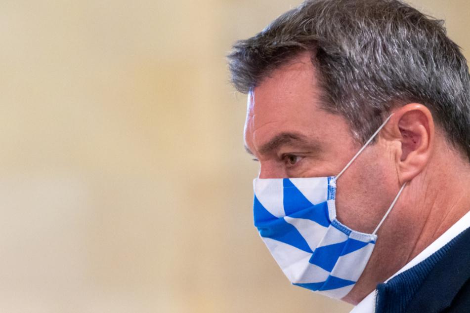 Greift durch: Bayerns Ministerpräsident Markus Söder (53, CSU).