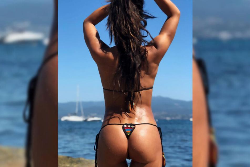 Mit diesem Schnappschuss aus dem Urlaub sorgt Fernanda Brandao für Aufsehen.