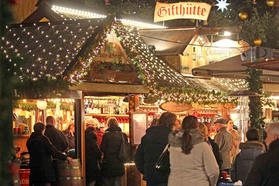 Der Weihnachtsmarkt in Herford ist ein beliebtes Ziel der Ostwestfalen.