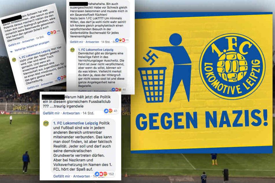 Nachwuchsspieler von Lok Leipzig zeigten Hitlergruß