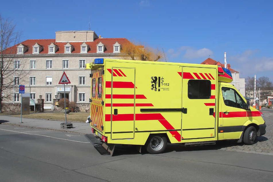 Das Krankenhaus Dresden-Neustadt in Trachau.