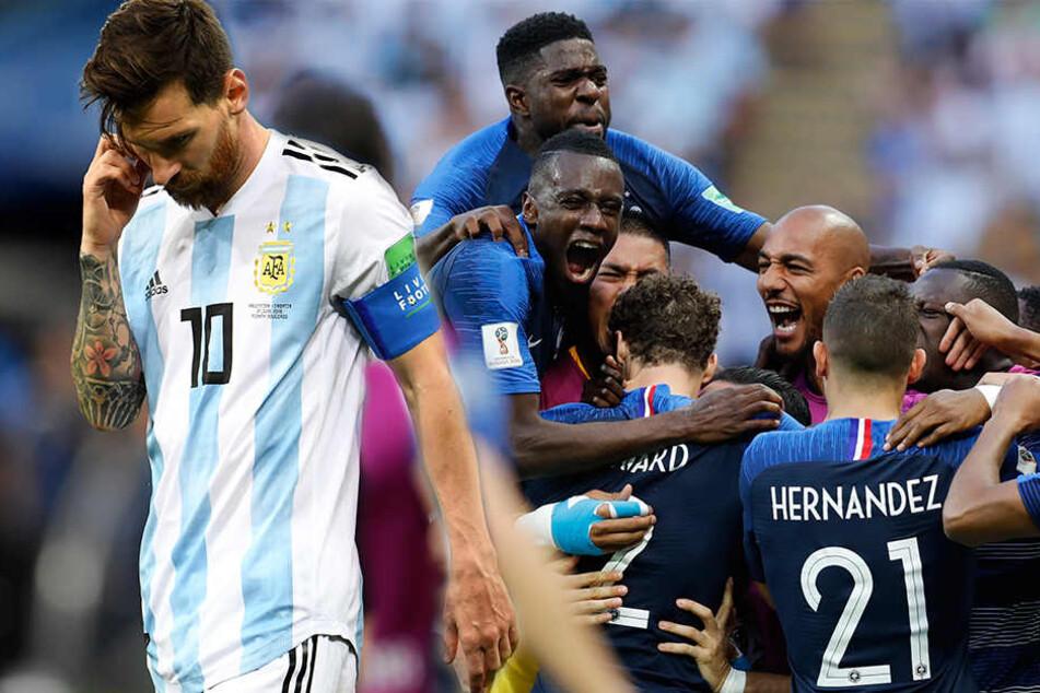 Mbappé-Show gegen Argentinien: Messi aus WM geballert