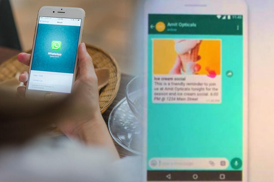Lange befürchtet, nun kommt sie wirklich: So sieht die Werbung auf WhatsApp aus!