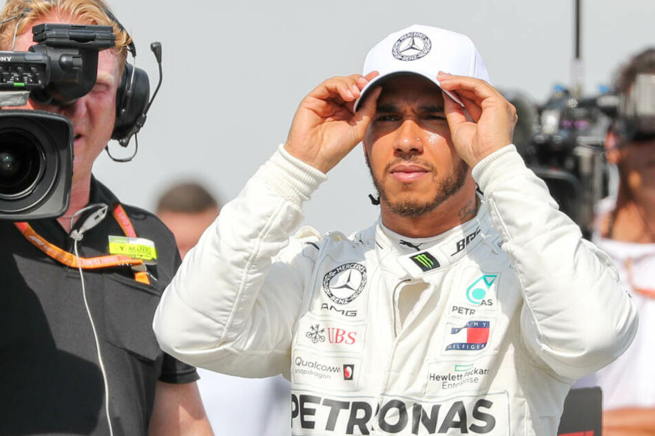 Lewis Hamilton schaut nachdenklich, hier beim GP von Deutschland, drein.