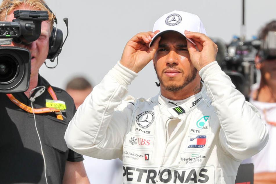 So reagiert F1-Champ Hamilton, als er den tödlichen Spa-Crash sieht
