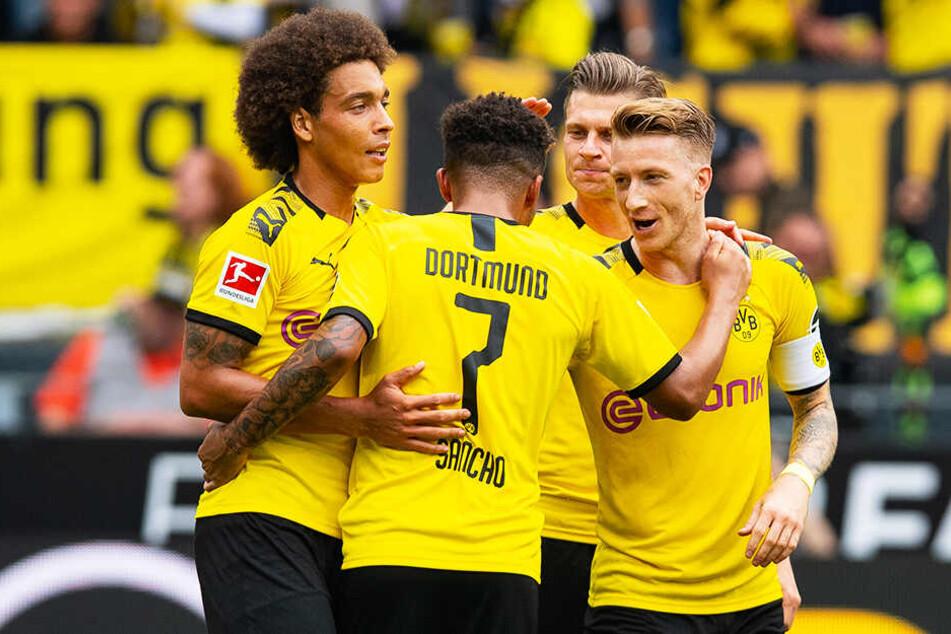Fünf Treffer und am Ende einen deutlichen Sieg durften die BVB-Spieler feiern.