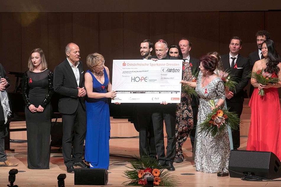 Alljährlich werden bei der Hope-Gala in Dresden tausende von Euro gesammelt. Das Geld fließt in Projekte in Südafrika.