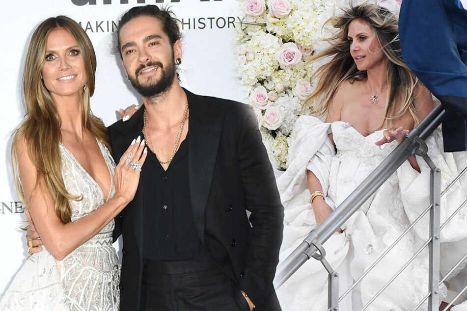 Heidi Klum und Tom Kaulitz feiern Hochzeits-Marathon, doch wo war ihr Vater?