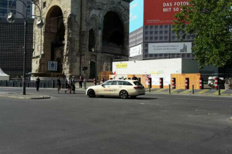 Auch der Breitscheidplatz wurde gesperrt. (Archivbild)