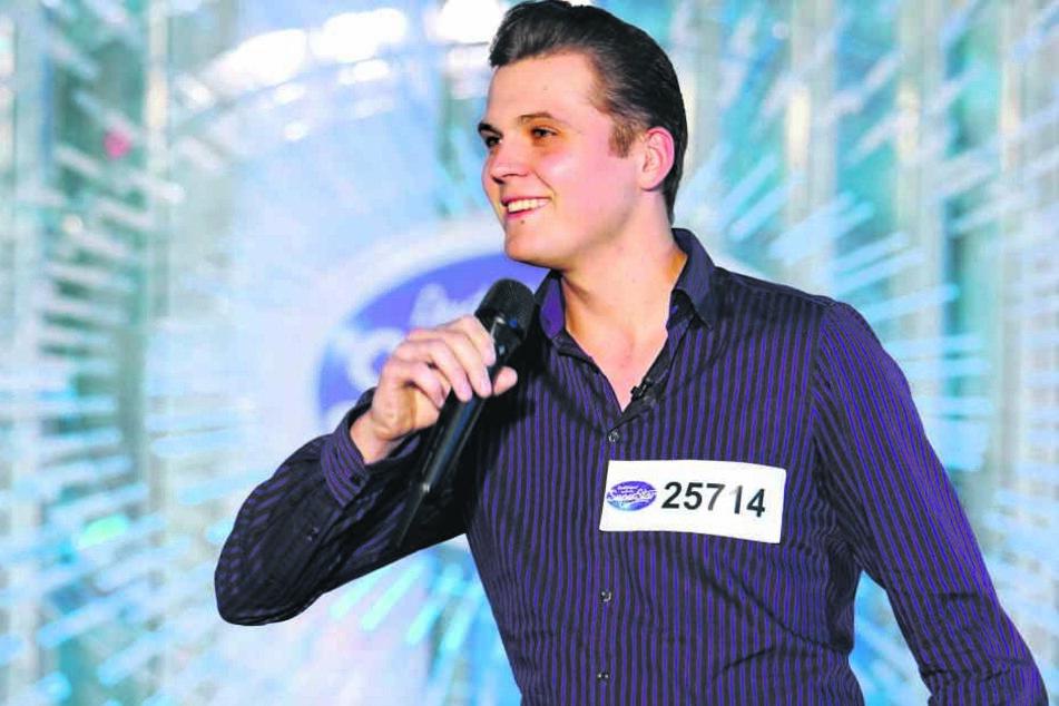 Für Schausteller Riccardo Richter (26) aus Dobra in der Sächsischen Schweiz ging es bei DSDS weiter in den Recall.