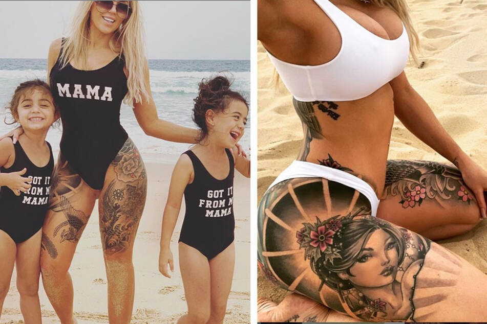 Woman refuses to let tattoos define her parental potential