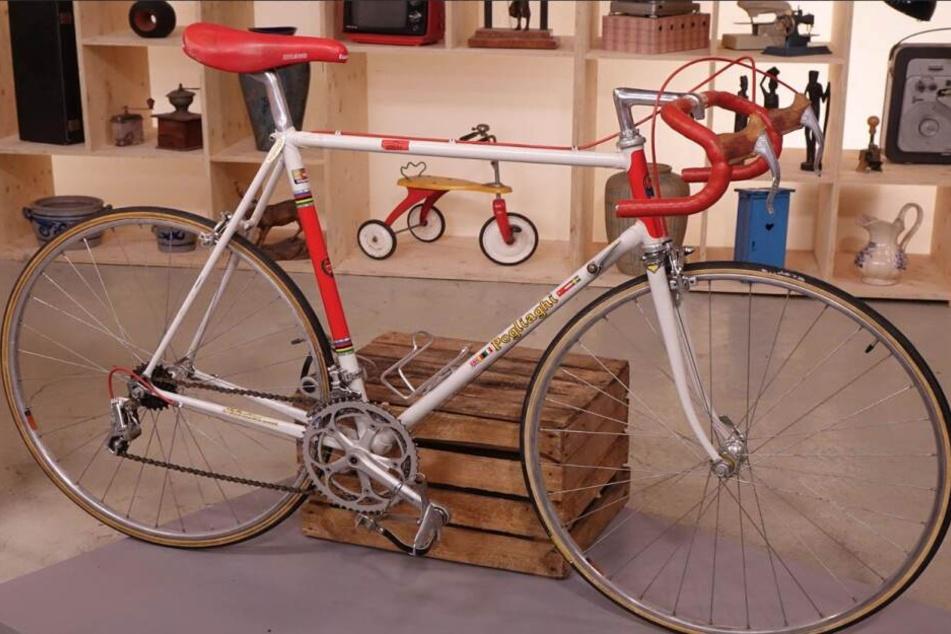 So ein Rennrad hätte Horst Lichter auch gerne als Kind gehabt.