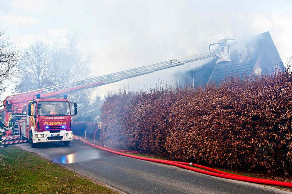 Die Feuerwehr konnte den Brand löschen (Symbolbild).
