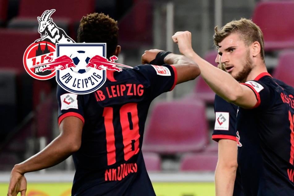RB Leipzig dreht Partie in Köln und ist wieder auf Champions-League-Kurs