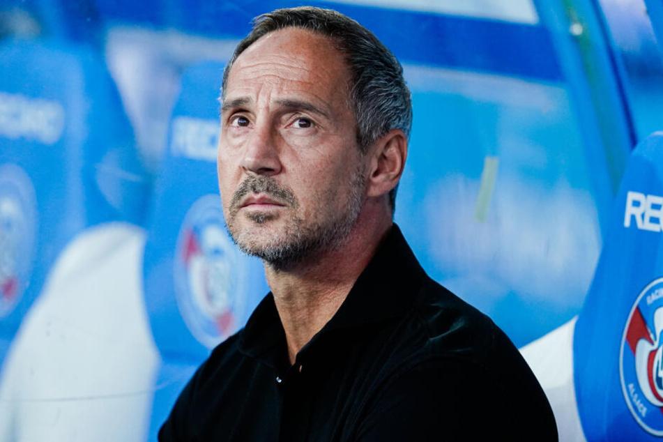 Eintracht-Trainer Adi Hütter.