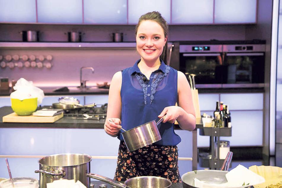 """Mit Ravioli will die Dresdnerin Verena Leister (23) bei der SAT.1-Kochshow """"The Taste"""" punkten."""